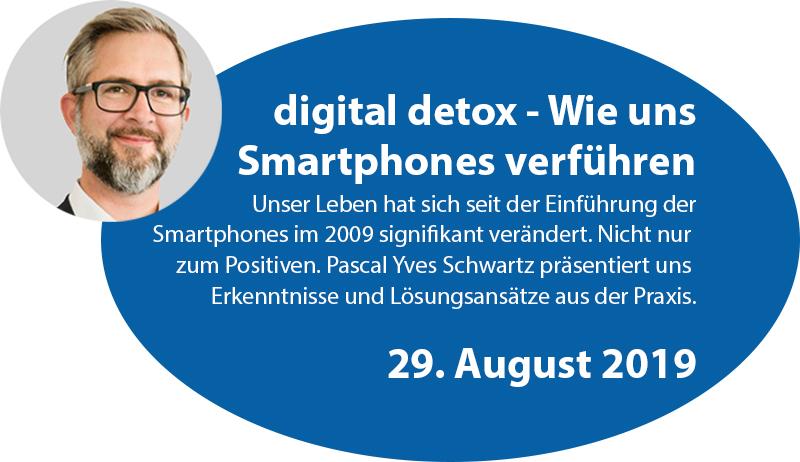 digital detox - mit Pascal Yves Schwartz
